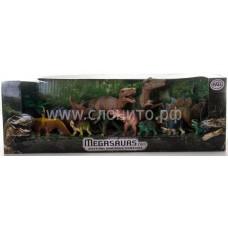 игровой набор динозавров (11 дино+дерево)