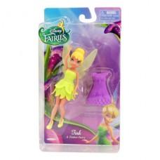 Кукла Дисней Фея 11 см с  дополнительным  платьем