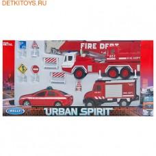 """набор машин """"Пожарная служба"""" 10 шт."""