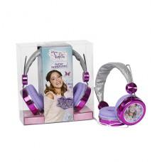 Виолетта Наушники с блестками