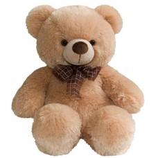 Медведь медовый с бантом 45см