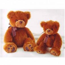 Медведь тёмно-коричневый 70 см