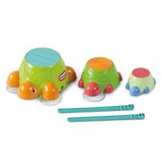 Игрушка для ванны Черепашки-барабаны