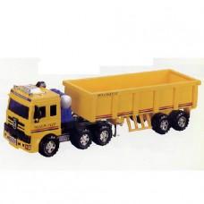 Машина с грузовым полуприцепом