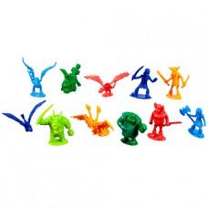 Dragons Набор маленьких драконов и викингов 25 штук в банке