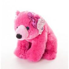 Медведь 30 см розовый