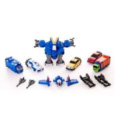 Набор Voov-G (робот-истребитель, 5 автомобилей)