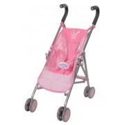 BABY born Коляска-трость розовая, полиэт. пакет