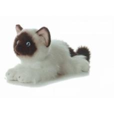 Кошка сиамская 30см