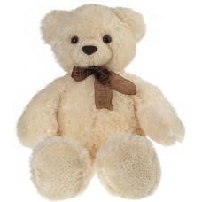 Медведь белый с бантом 69 см