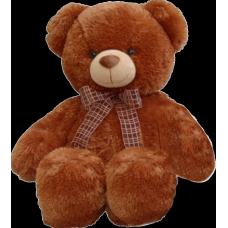 Медведь коричневый с бантом 45см